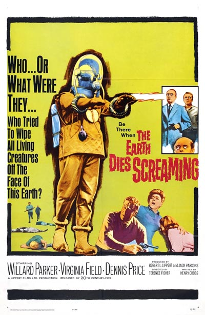 936full the earth dies screaming poster