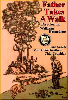 father walk poster