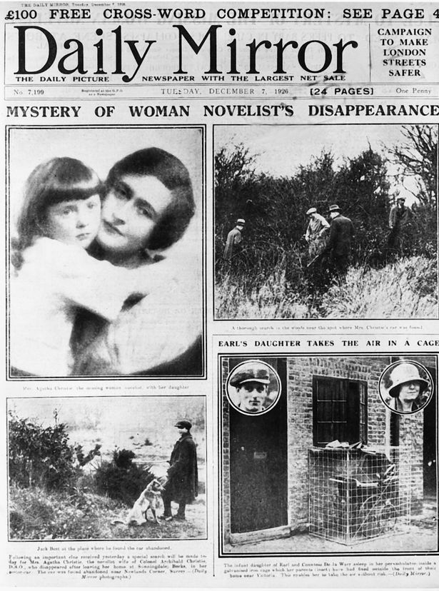agatha christies 1926 disappearance