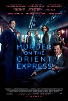 Murder on the Orient Express teaser poster